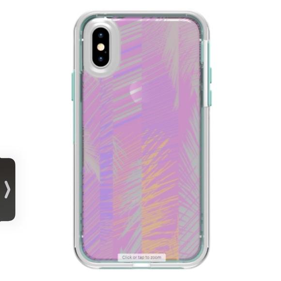 NEW SLAM Lifeproof iPhone X/XS palm leaves case